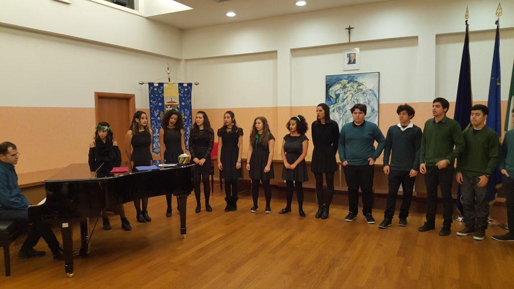 Il coro della scuola Waldorf di San Paolo del Brasile in concerto a Ruda