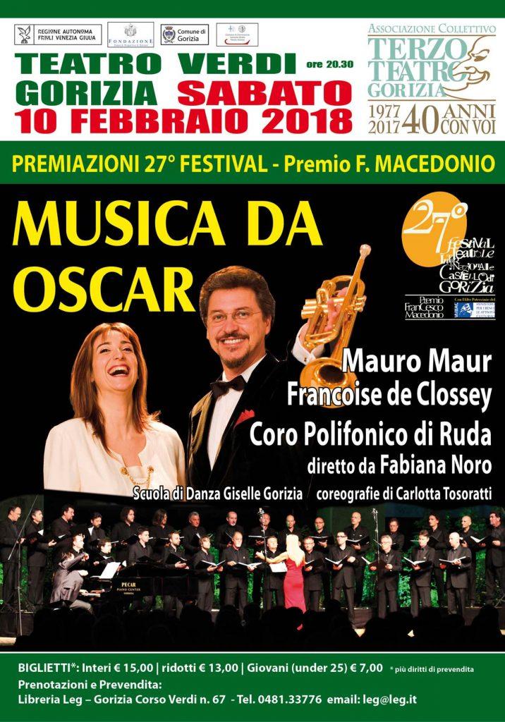 Maur e de Clossey a Gorizia il 10 febbraio con il Polifonico di Ruda