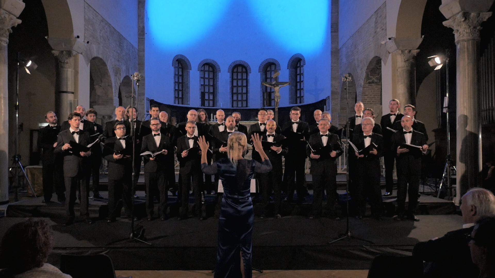 Il coro polifonico di Ruda ne La Musica dei Cieli