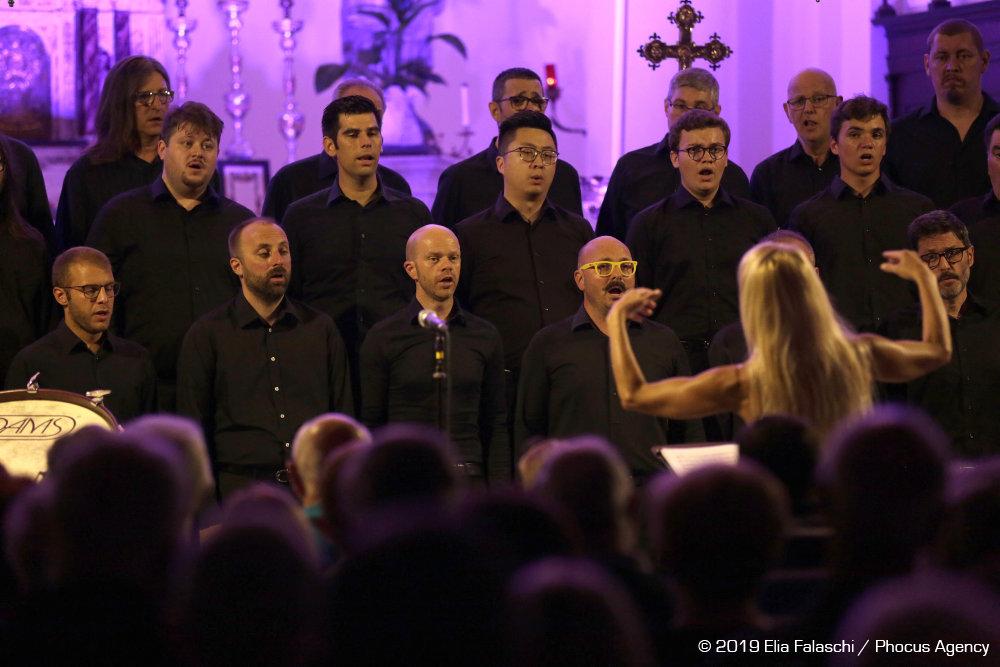 Il coro Polifonico di Ruda canta la musica dei cieli